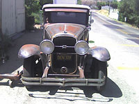 '31 Buick Victoria before restoration