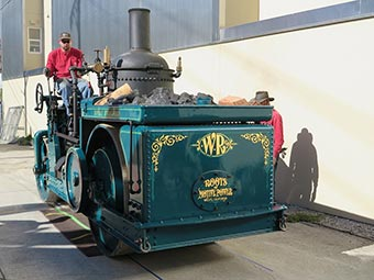 Roots of Motive Power's 1924 Buffalo Springfield steam roller
