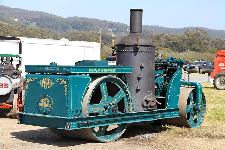 Roots of Motive Power's Buffalo Springfield Steam Roller