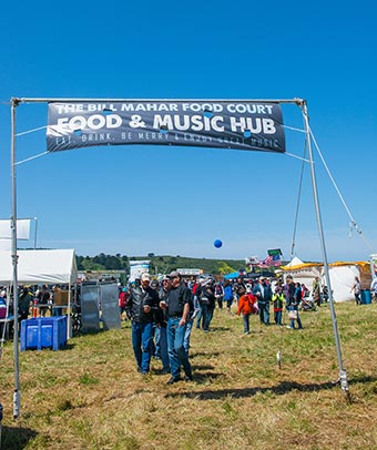 food and music hub