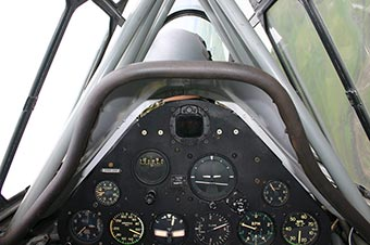 T-6 Texan cockpit