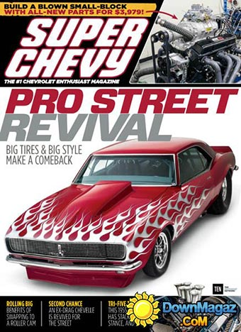 1968 Camaro on cover of Super Chevy magazine