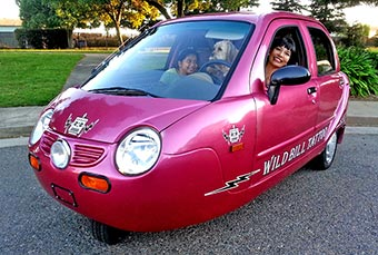Wild Bill 2006 ZAP electric micro car