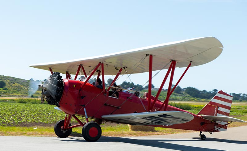 Airplane Rides in a Stanley Biplane