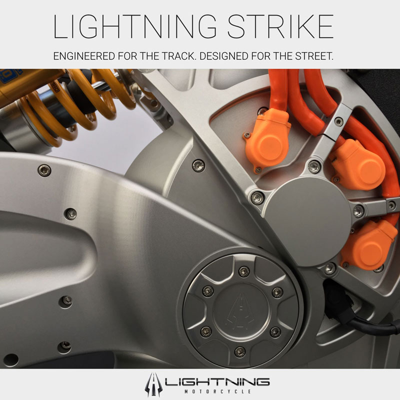 Lightning Motorcycles Lightning Strike motor closeup