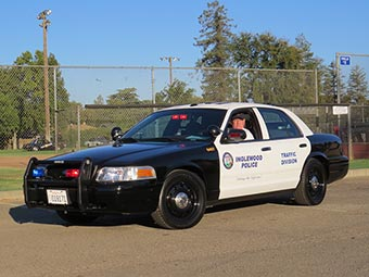 2007 Ford Crown Victoria, Inglewood PD