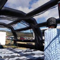 Birdman Bats Batters' Box Mobile Batting Cage