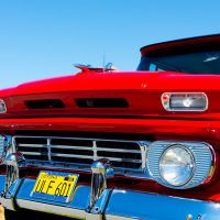 vintage Chevrolet closeup