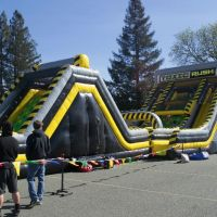 Party Jump's Toxic Rush bounce house