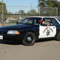 1993 Ford Mustang, California Highway Patrol