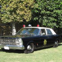 1966 Ford Custom, Mariposa County Sheriff
