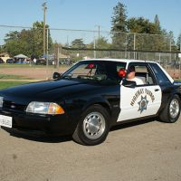 1990 Ford Mustang, California Highway Patrol