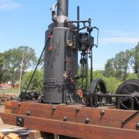 Roots Of Motive Power 1898 Marshutz and Cantrell Improved Spool Donkey