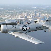 T-6 Texan military trainer