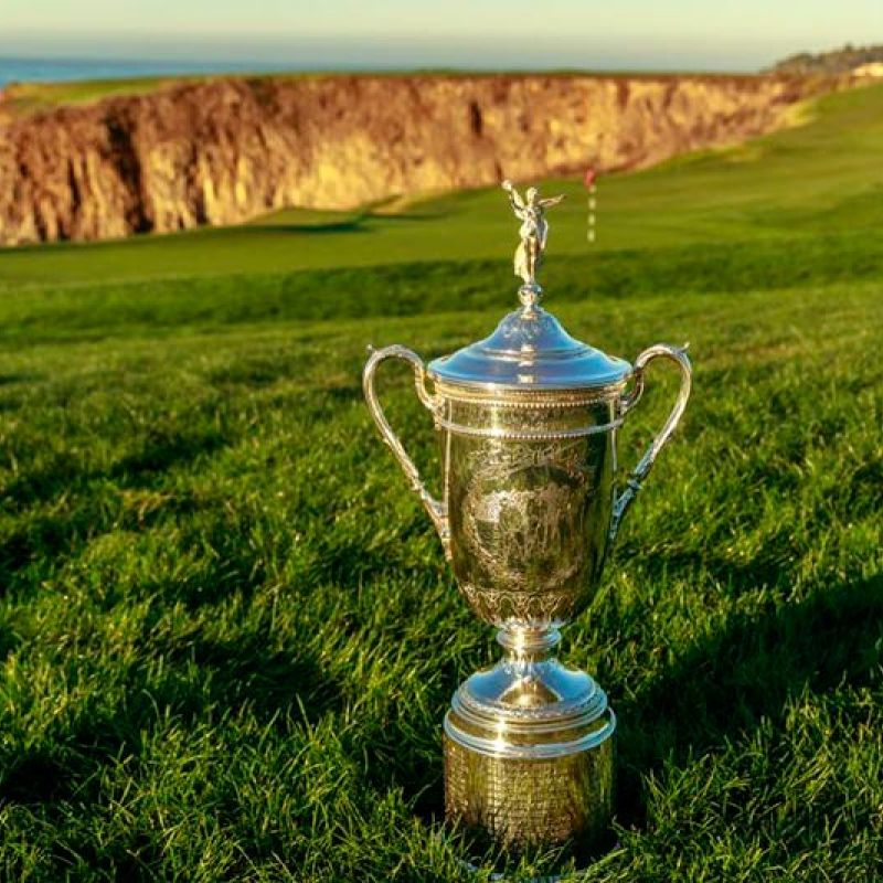U.S. Open Trophy Tour Photo Opportunity