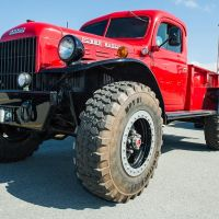 Vintage custom Dodge Power Wagon